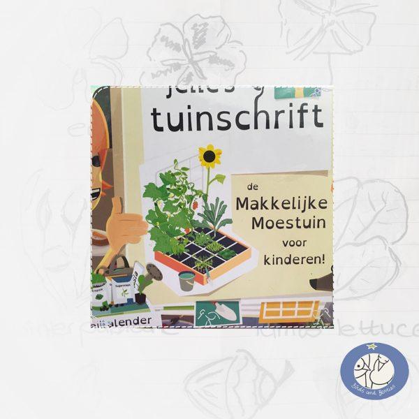 Product boek voor kinderen Makkelijke Moestuin voor webshop Birds and Berries