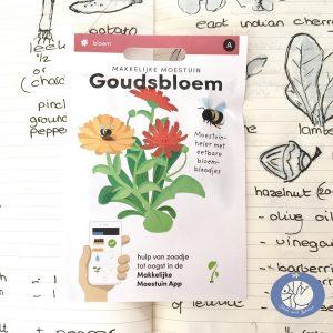 Product afbeelding los zakje Goudsbloem uit Basis serie voor website Birds and Berries België