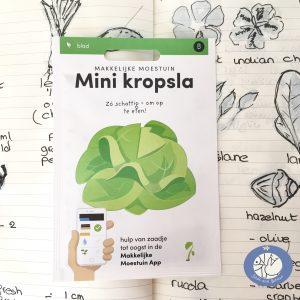 Product afbeelding los zakje mini kropsla uit Basis serie voor website Birds and Berries België