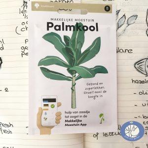 Product afbeelding los zakje Palmkool uit Basis serie voor website Birds and Berries België