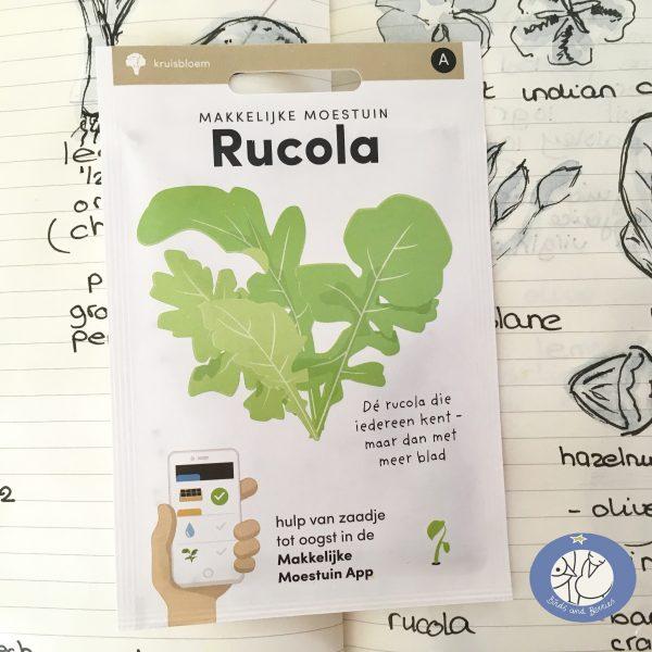 Product afbeelding los zakje rucola uit Basis serie voor website Birds and Berries België