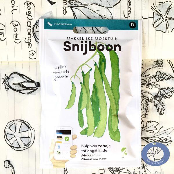 Product afbeelding los zakje snijboon uit klimrek serie voor website Birds and Berries België