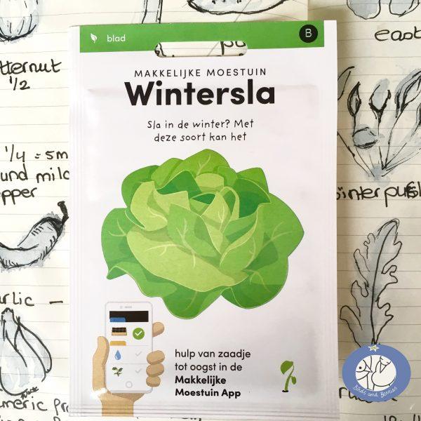 Product afbeelding los zakje wintersla seizoen serie voor website Birds and Berries België