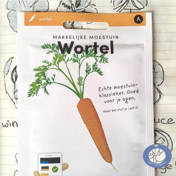 Product afbeelding los zakje reuzen wortel uit Basis serie voor website Birds and Berries België