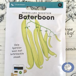 Product afbeelding los zakje boterboon uit Basis serie voor website Birds and Berries België