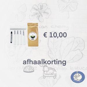 Productafbeelding plantenlabels met stift voor webshop Birds and Berries