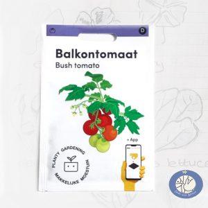Product afbeelding los zakje Balkontomaat Maya zaden Makkelijke Moestuin voor website Birds and Berries België