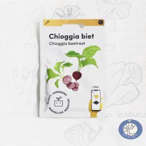Product afbeelding los zakje Chioggia biet zaden Makkelijke Moestuin voor website Birds and Berries België