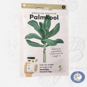 Product afbeelding los zakje zaden Palmkool Makkelijke Moestuin voor website Birds and Berries België