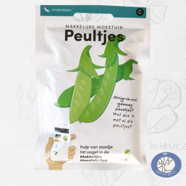 Product afbeelding los zakje zaden Peultjes Makkelijke Moestuin voor website Birds and Berries België