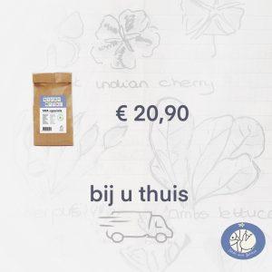 Productafbeelding zadenpakket Specials Makkelijke Moestuin. 10 zakjes zaden tot bij u thuis via webshop Birds and Berries
